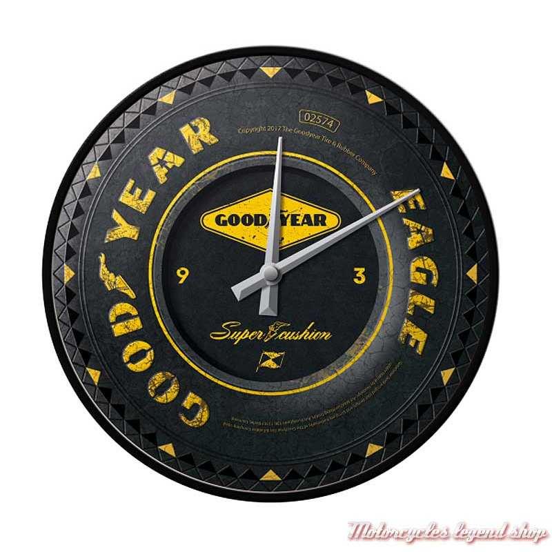 Horloge murale Goodyear, Nostalgic Art 51085