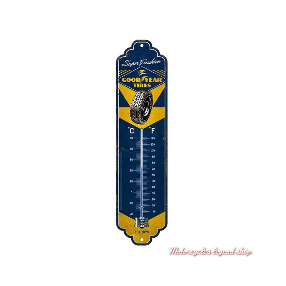 Thermomètre Goodyear métal, Nostalgic Art 80316