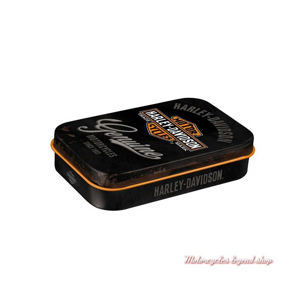 Boite de pastilles mentholées Genuine XL Harley-Davidson métal, 82111