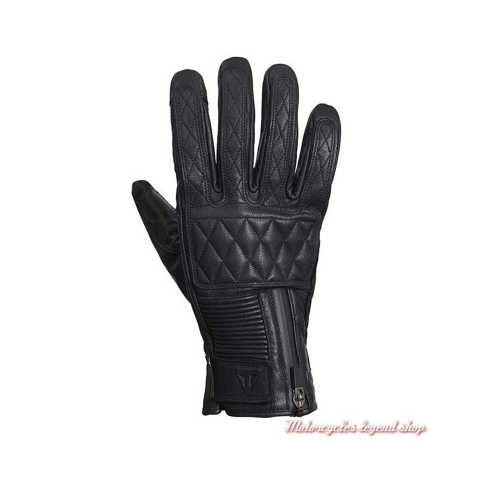 Gants cuir Raven Goretex Triumph, noir, MGVS20117