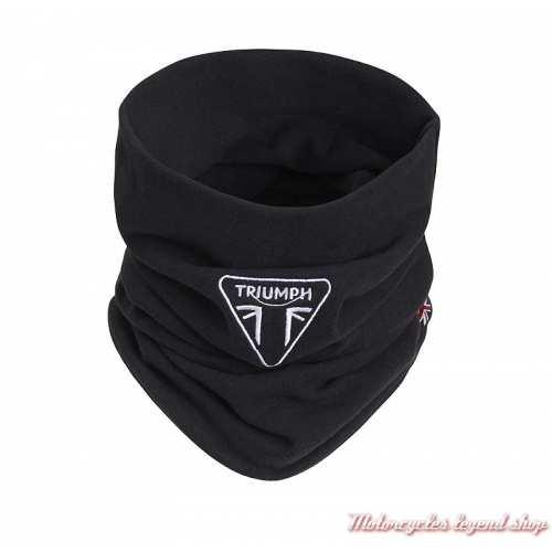 Tour de cou Grip Triumph, noir, logo brodé, polyester, MTUS20301