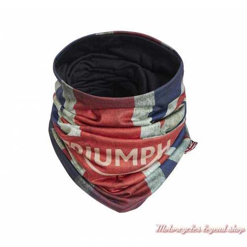 Tour de cou Jack Triumph, rouge, blanc, bleu, polyester, MTUS20303