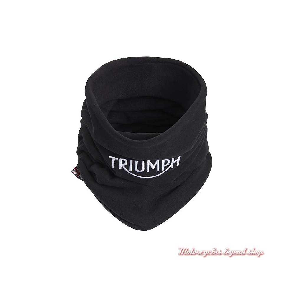 Tour de cou Refill Thermal Triumph, noir, logo brodé, polyester, MTUS20316
