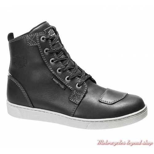 Chaussures Steinman Harley-Davidson homme, CE waterproof, noir, à lacets, D97139