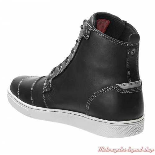 Chaussures Steinman Harley-Davidson homme, CE waterproof, noir, à lacets, D97139-2