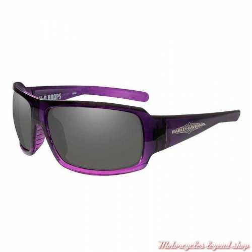 Lunettes solaire Hoops Harley-Davidson femme, purple, HAHPS01