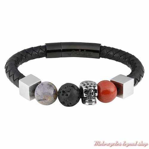 Bracelet cuir et Charms Zippo