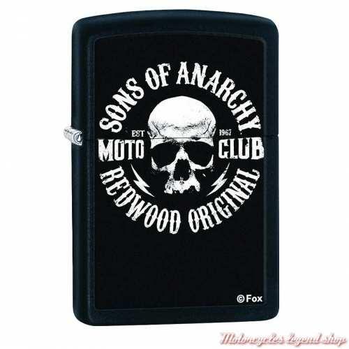 Zippo Sons of Anarchy, metal noir mat, 60000170