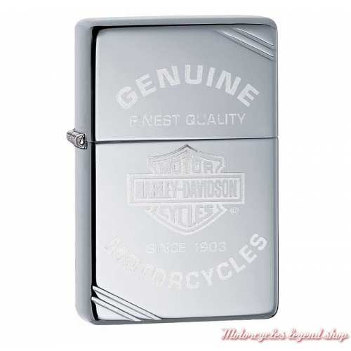 Zippo Harley-Davidson, métal chrome poli 60004265