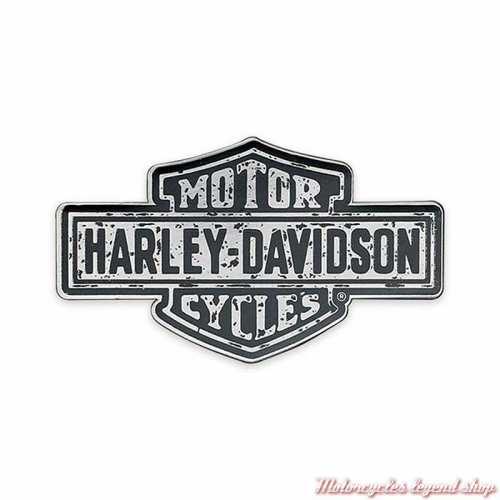 Pin's Premium Harley-Davidson, Bar & Shield, noir, gris, P343758