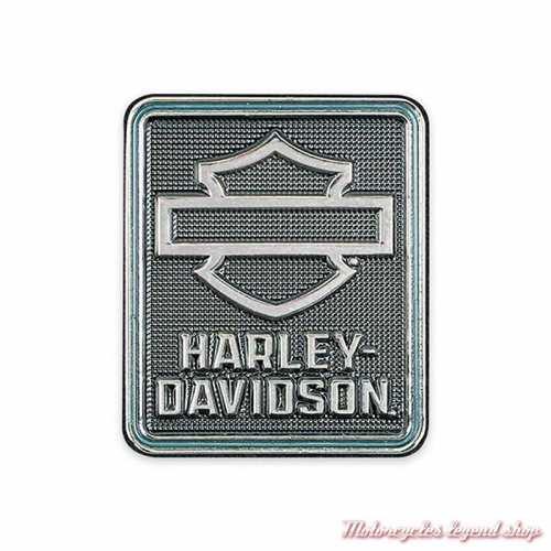 Pin's Insigna Harley-Davidson, metal argent poli, P344302