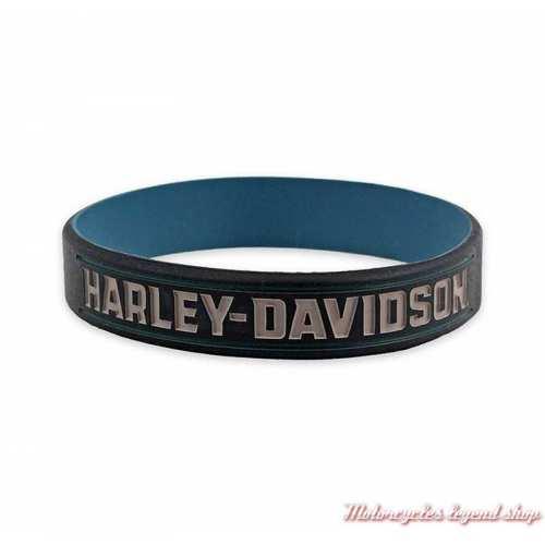 Bracelet silicone Insignia Harley-Davidson