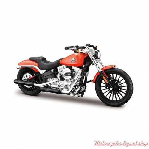 Miniature Breakout 2016 orange Harley-Davidson Maisto, echelle 1/18
