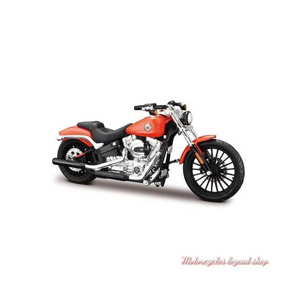 Miniature Breakout 2016 orange Harley-Davidson Maisto, echelle 1/18