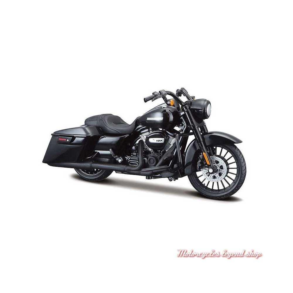Miniature Road King Special 2017 noir Harley-Davidson, Maisto, echelle 1/18