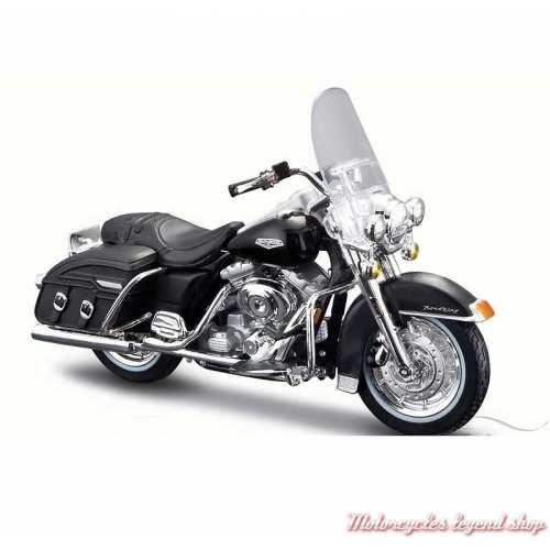 Miniature Road King Classic 2001 noir Harley-Davidson, Maisto, echelle 1/18