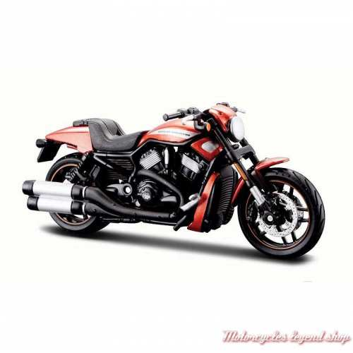 Miniature VRSCDX Night Rod Special orange 2012 Harley-Davidson, Maisto, echelle 1/18