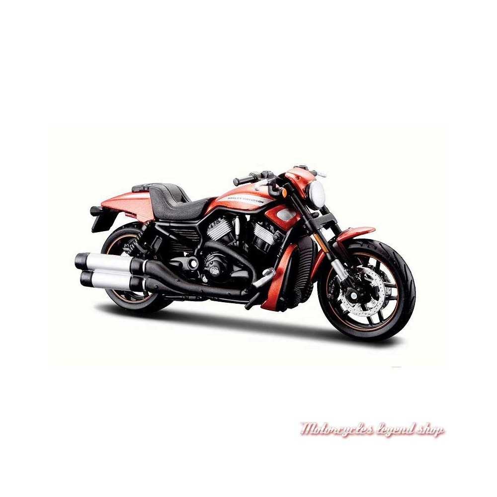 Miniature VRSCDX Night Rod Special orange 2012 Harley-Davidson, Maisto, echelle 1/18