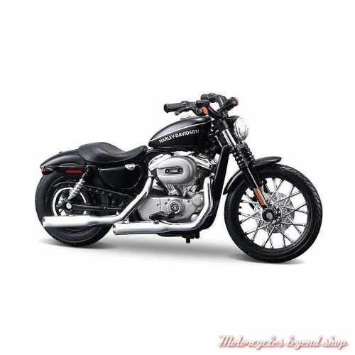Miniature XL 1200N Nightster 2007 Harley-Davidson, noir, echelle 1/24