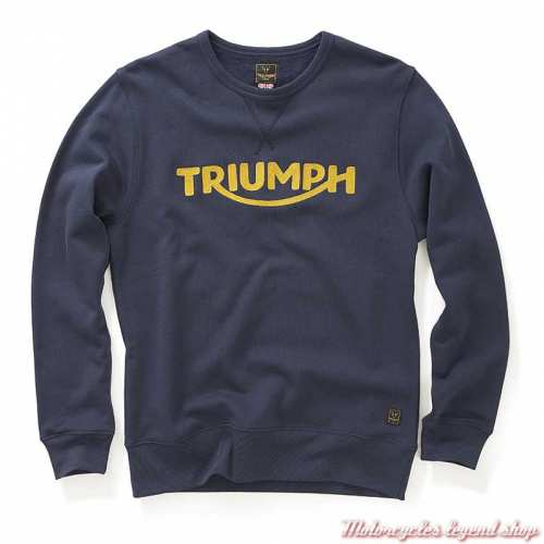 Sweatshirt Blackawton black iris homme Triumph