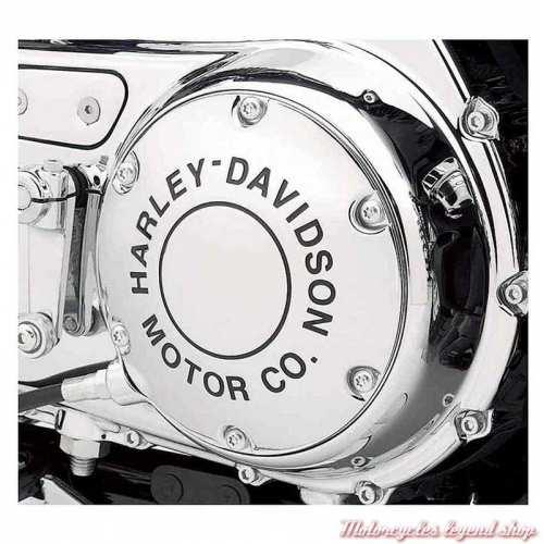 Trappe d'embrayage HDMC chrome Harley-Davidson, visuel 25130-04A