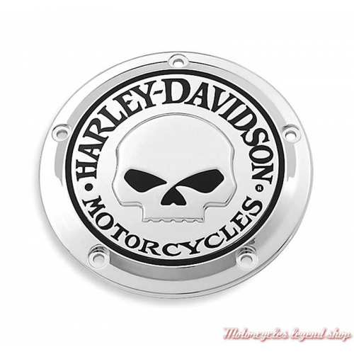 Trappe d'embrayage Skull chrome Harley-Davidson 25700469