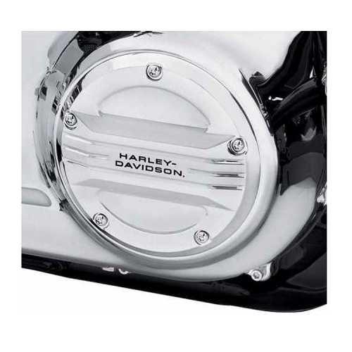 Trappe d'embrayage Airflow chrome Harley-Davidson, visuel 25700969