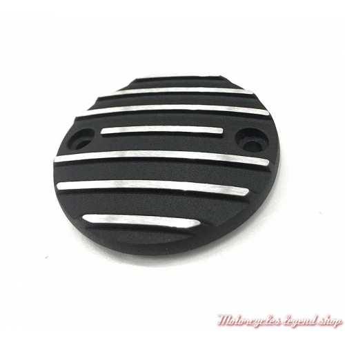 Cache carter de distribution Black Fin Harley-Davidson, noir 32677-01