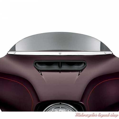 Habillage de pare-brise Harley-Davidson chrome, visuel, 61300310