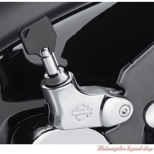 Loquet de verrouillage Holdfast chrome Harley-Davidson visuel, 52300513