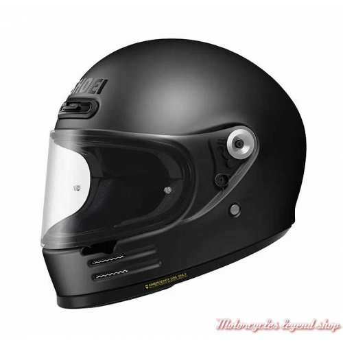 Casque The Glamster Mat black Shoei