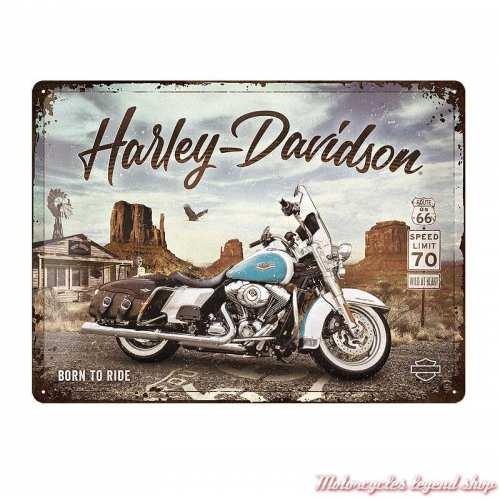 Plaque métal Canyon Harley-Davidson