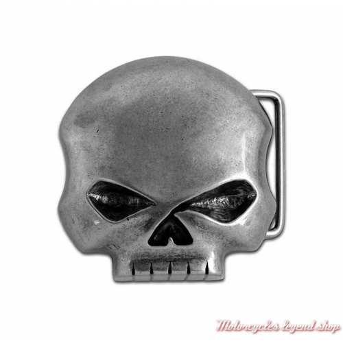 Boucle Skull Willie G. homme Harley-Davidson