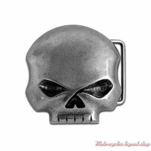 Boucle Skull Willie G. brute homme, Harley-Davidson HDMBU10080
