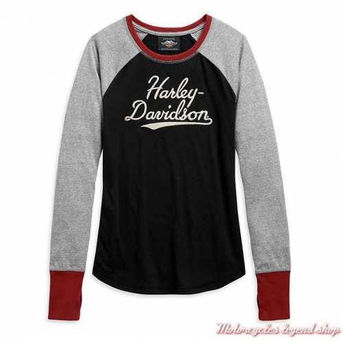 Tee-shirt Marled Harley-Davidson femme