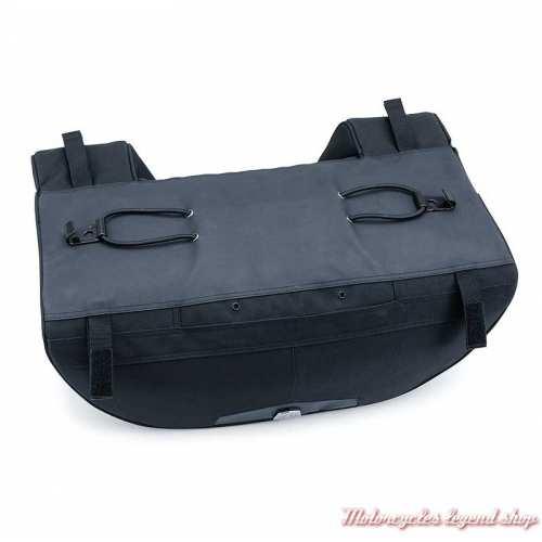Sac de porte bagage Tour Pak Momentum Kuryakyn, toile noir K5281-2