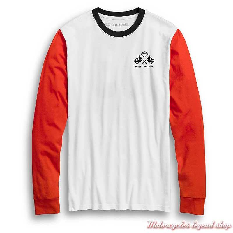 Lee Ls Chest Logo Tee T-Shirt Manches Longues Homme