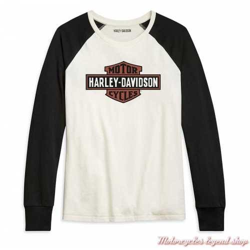 Tee-shirt Colorblock Harley-Davidson femme