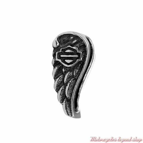 Petit charm Wing Silver pour bracelet Rally Harley-Davidson HSC0096