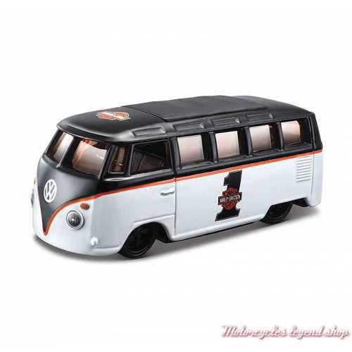 Miniature Van VW Samba Harley-Davidson Maisto, echelle 1/64