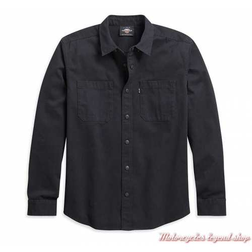 Chemise Solid Twill Harley-Davidson