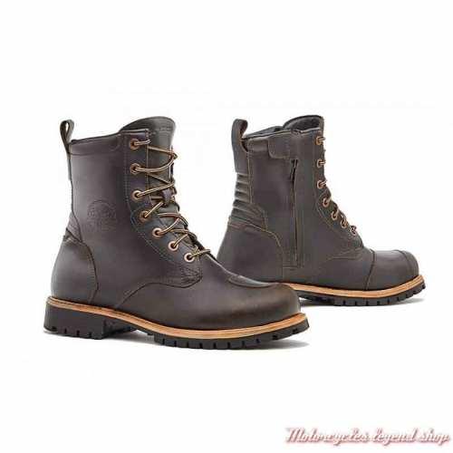 Chaussures à lacets Legacy Forma homme, marron vintage, waterproof, homlogués CE