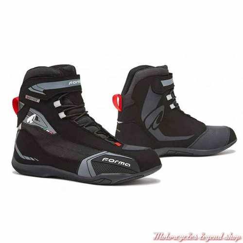 Chaussures Viper Forma homme, noir, cuir, microfibre, waterproof, homologués CE