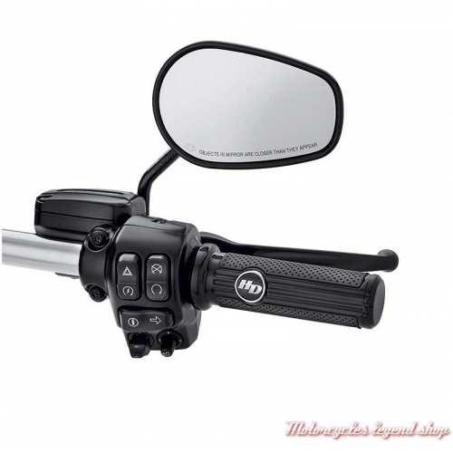 Poignées Défiance Black Harley-Davidson, visuel, 56100157