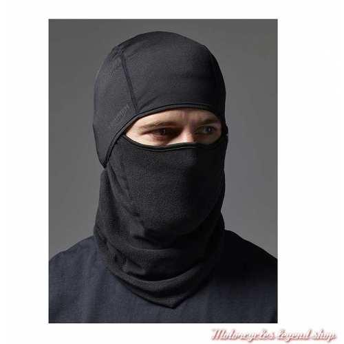 Cagoule Balaclava Triumph, noir, polyester, élasthanne, visuel, MFNA2052