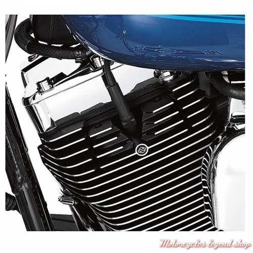 Kit de ponts de vis de culasses à ailettes Harley-Davidson Twin cam noir surbrillance, visuel, 43859-00