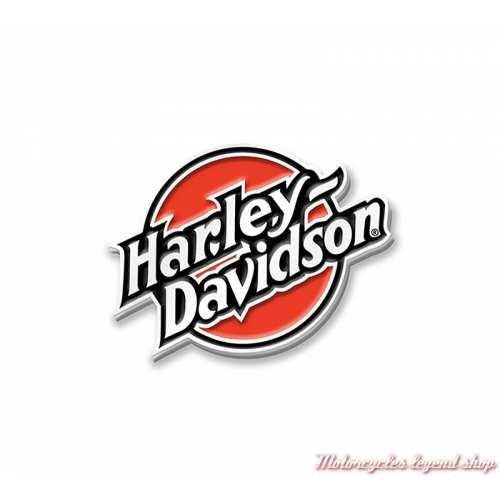Pin's Color Harley-Davidson, métal et émail orange, 97677-21VX