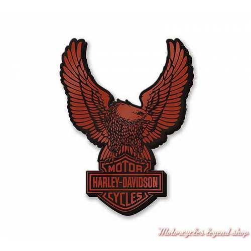 Pin's Eagle Harley-Davidson, métal et email, 97678-21VX