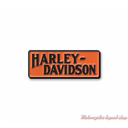 Pin's Racer Tank Harley-Davidson, métal et émail, orange, 97680-21VX