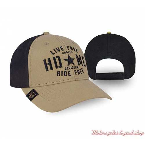 Casquette Resolute Text Harley-Davidson